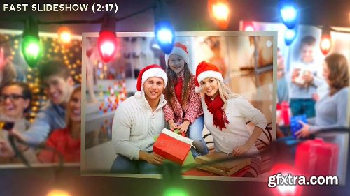 Videohive Christmas Lights Logo & Slideshow 6261740
