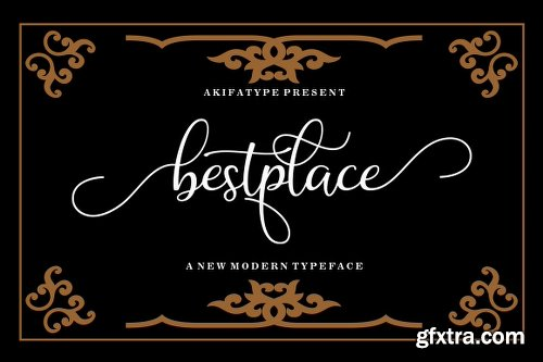 FontBundles Bestplace Script Font