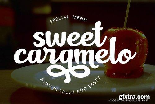 CreativeMarket Mochalate | sweet & delicious font 3131340