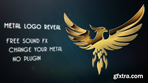 Videohive Metal Logo Reveal 18085423
