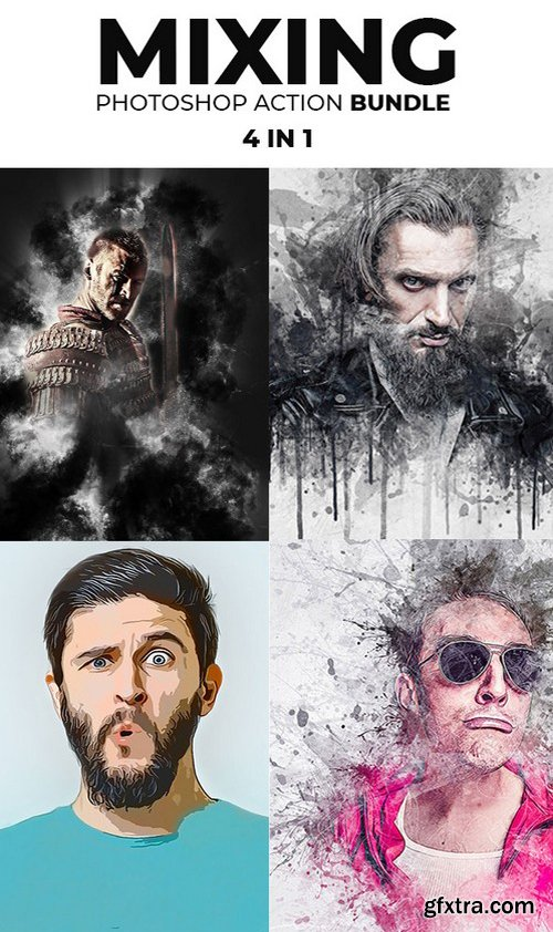 Graphicriver - Mixing Photoshop Action Bundle 21620893