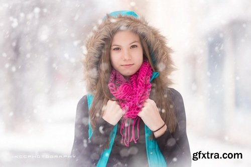 Snow Day - Photoshop Actions & Snow Overlays