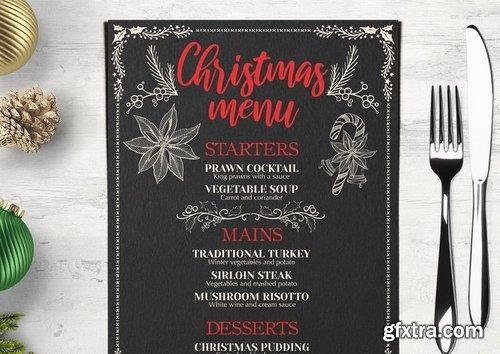 Christmas Party Menu Restaurant