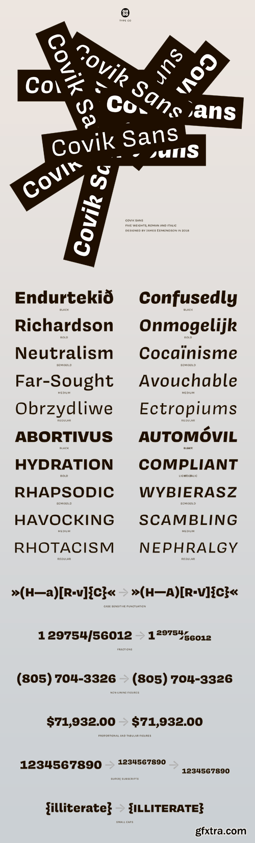 Covik Sans Font Family