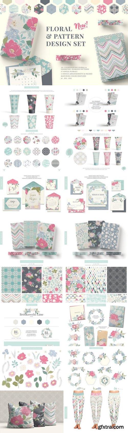 CM - Floral & Pattern Design Set 2584197