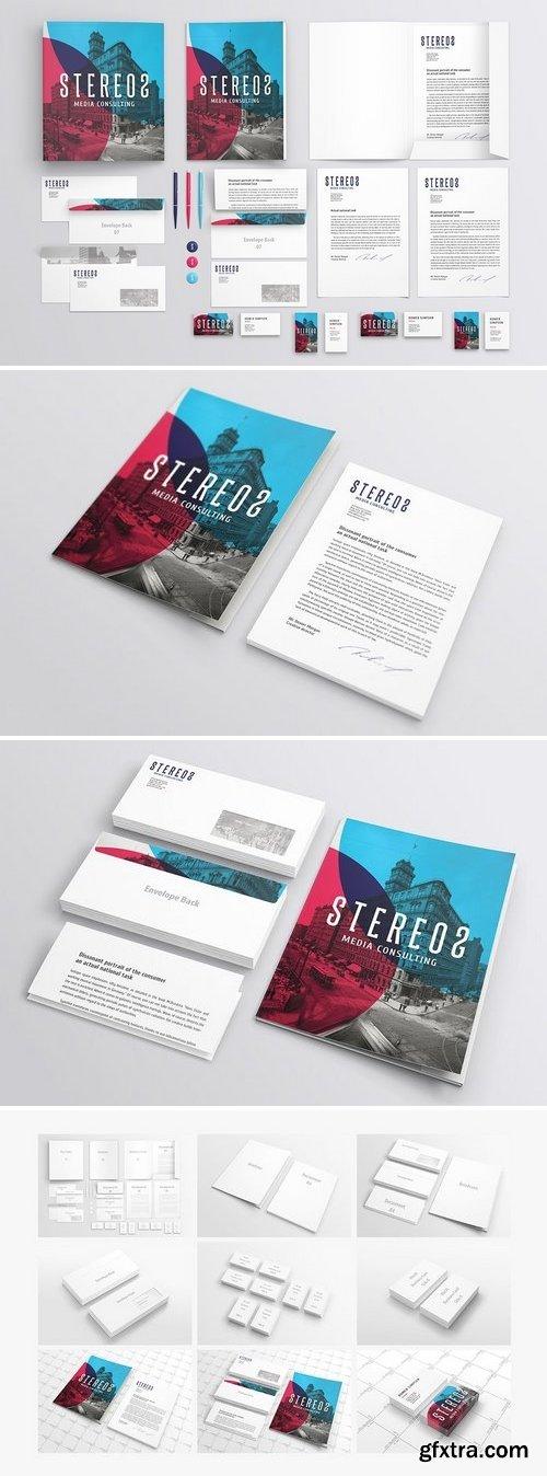 CM - Branding / Identity Mockup 23427