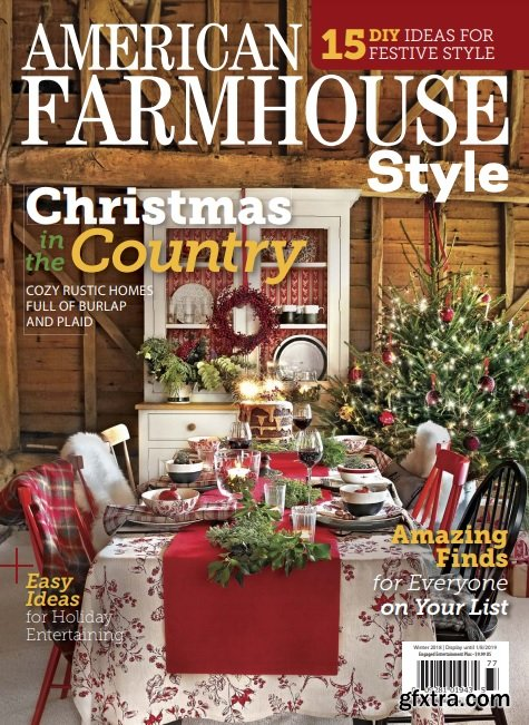 American Farmhouse Style - Winter 2018