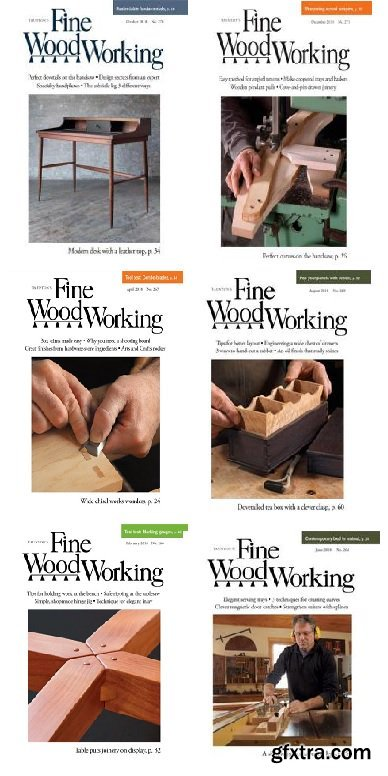 Fine Woodworking - 2018 Full Year Issues Collection
