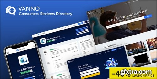 ThemeForest - Vanno v1.0 - Consumers Reviews and Rating Directory - 22805107