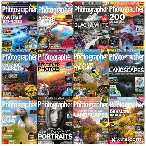 Digital Photographer - 2018 Full Year Issues Collection