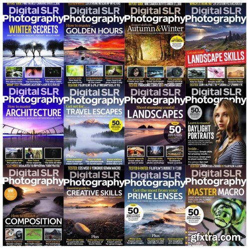 Digital SLR Photography - 2018 Full Year Issues Collection