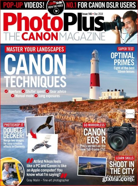 PhotoPlus: The Canon Magazine - December 2018 (True PDF)