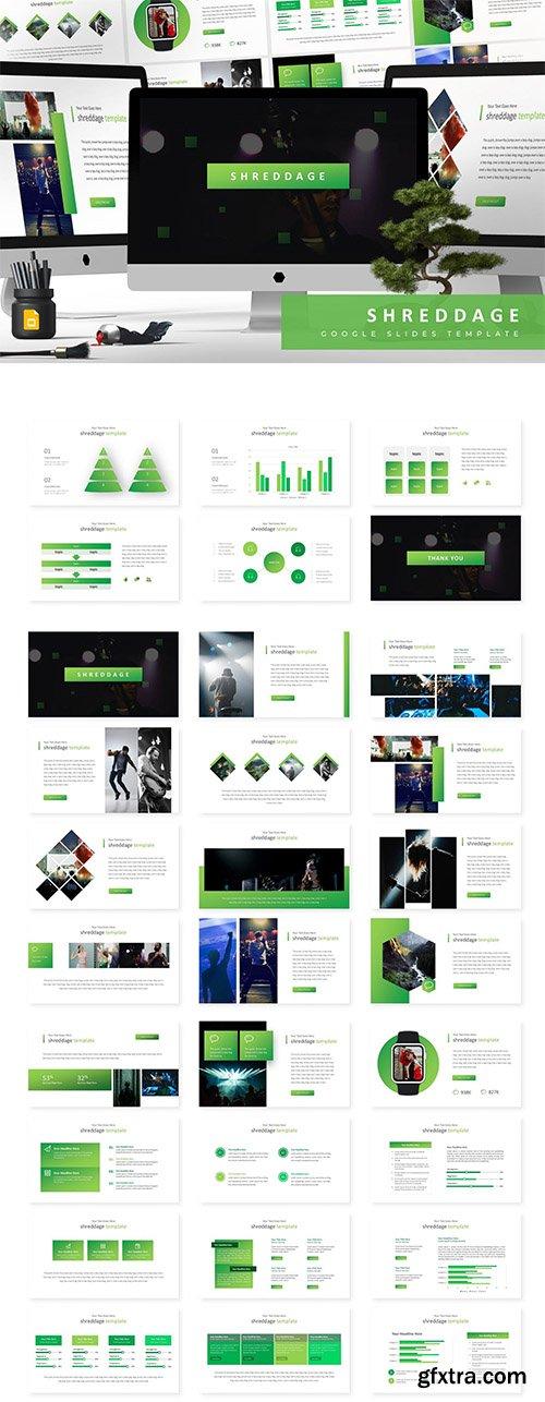 Shreddage - Powerpoint, Keynote and Google Sliders