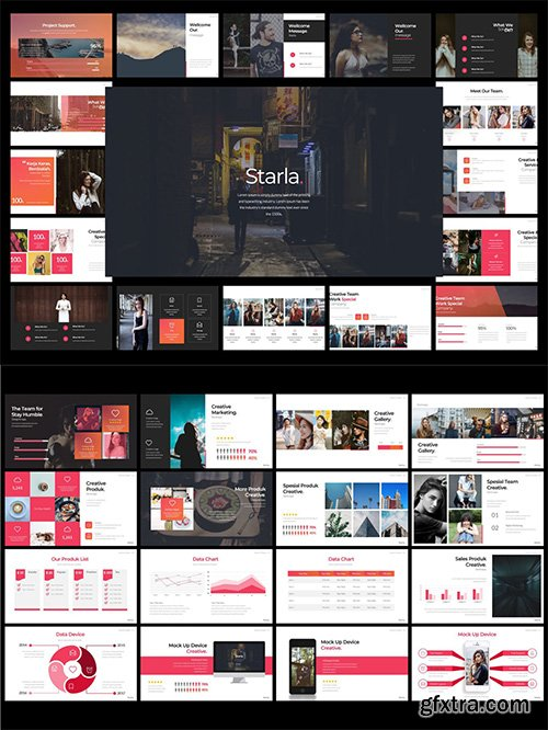Starla - Powerpoint, Keynote and Google Sliders