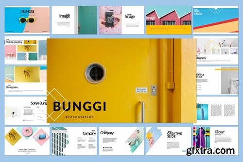 Bunggi Powerpoint Keynote and Google Slide Templates