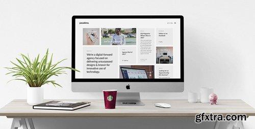 ThemeForest - Pasadena v1.0 - Contemporary Portfolio WordPress Theme for Creatives - 20667535