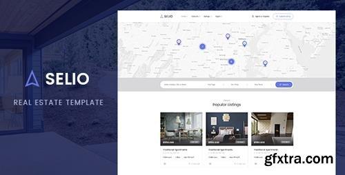 ThemeForest - Selio v1.0 - Real Estate HTML Theme - 22825068