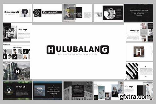 Hulubalang Powerpoint Keynote and Google Slide Templates
