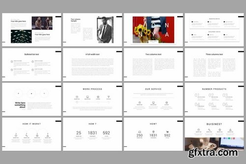 Onya Minimal Creative Powerpoint Keynote and Google Slide Templates
