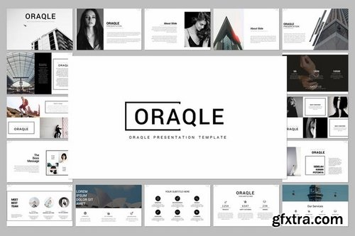 Oraqle Powerpoint Keynote and Google Slide Templates