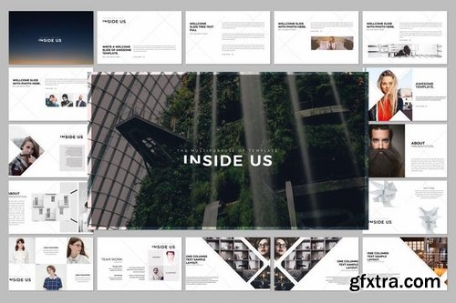 INSIDE US Powerpoint Keynote and Google Slide Templates