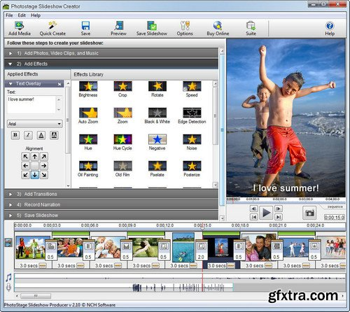 NCH PhotoStage Slideshow Producer Professional 5.20 Beta