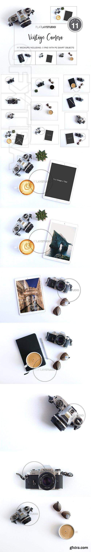 CreativeMarket - VINTAGE CAMERA MOCKUP 141 2740156