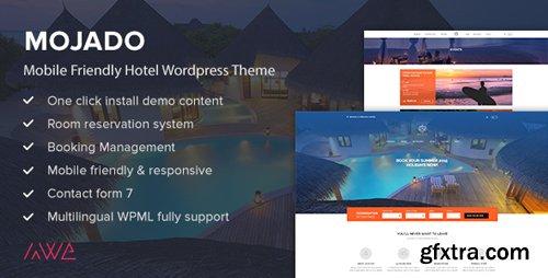 ThemeForest - Mojado v3.0.0 - Mobile Friendly Hotel WordPress Theme - 15493615