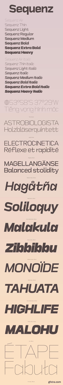 Sequenz Font Family
