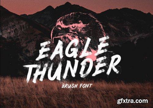CreativeMarket Eagle Thunder - Brush 3143277