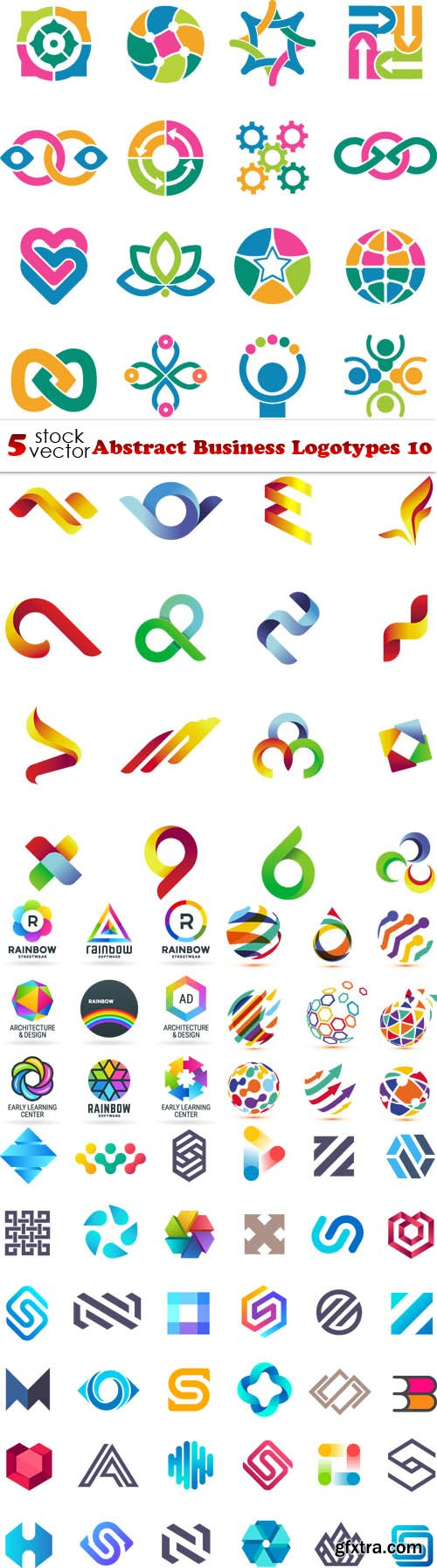 Vectors - Abstract Business Logotypes 100