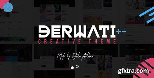 ThemeForest - Derwati v1.1 - Trendy & Creative Portfolio Theme - 22367601