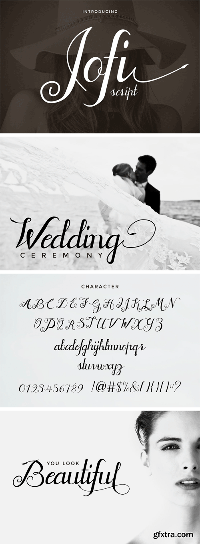 Jofi Script Font