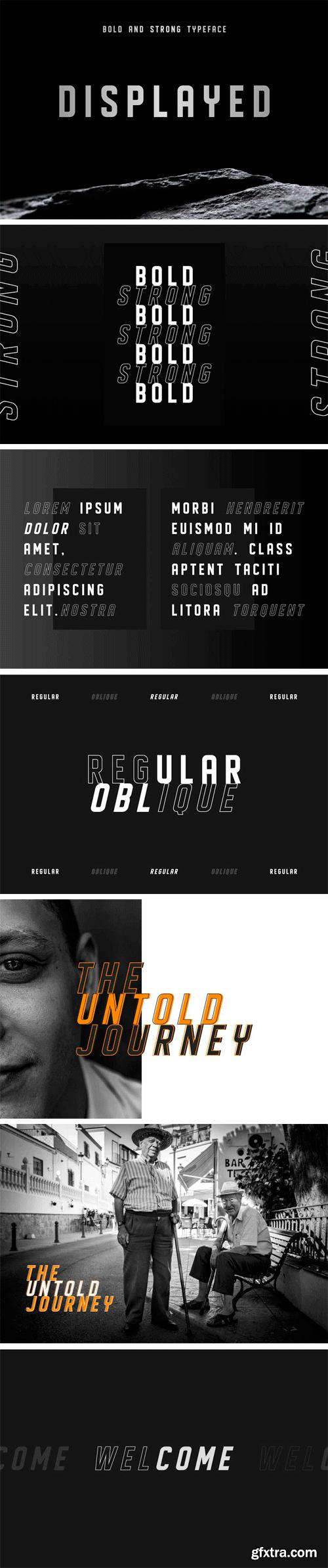 CM - DISPLAYED Typeface 2938701