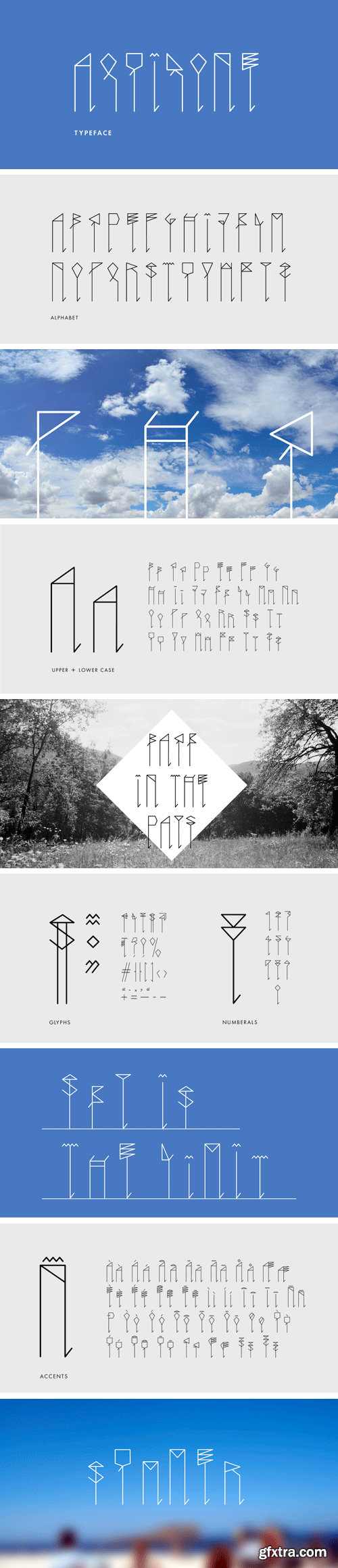 Aquilone Typeface