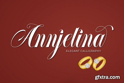 Annjelina Script Font