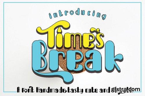 Break Times Font