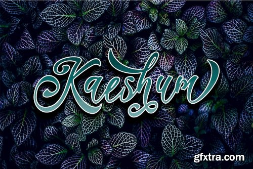 CreativeMarket Kaeshum Script - BOLD 3096152