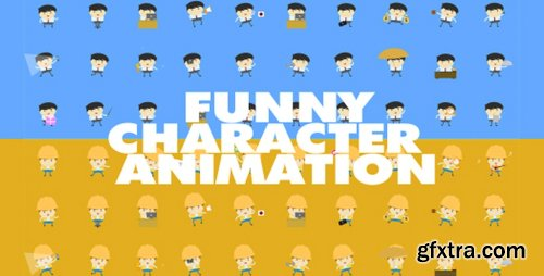 Videohive Funny Character Animations 18699894