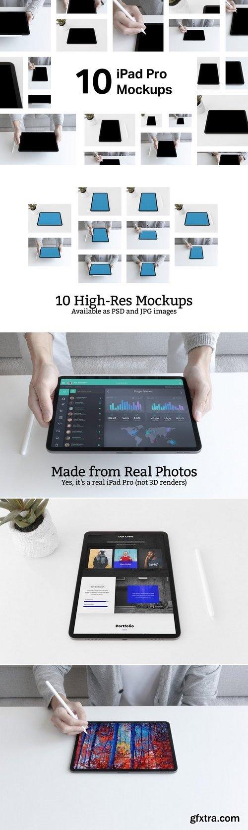 CM - 10 iPad Pro (3rd Generation) Mockups 3156329