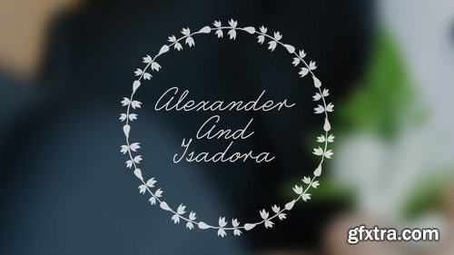 Videohive Wedding Animated Typeface 21907957