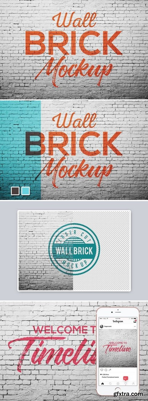 CM - Wall brick Mock Up 1470784