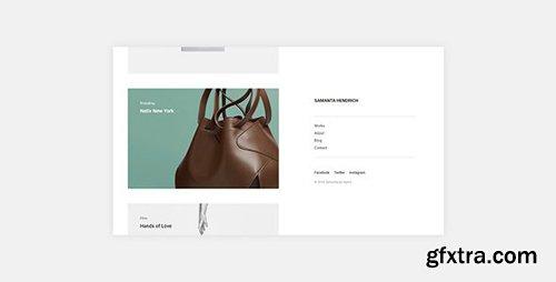 ThemeForest - Samanta v1.0.0 - Minimal Portfolio WordPress Theme - 21463208