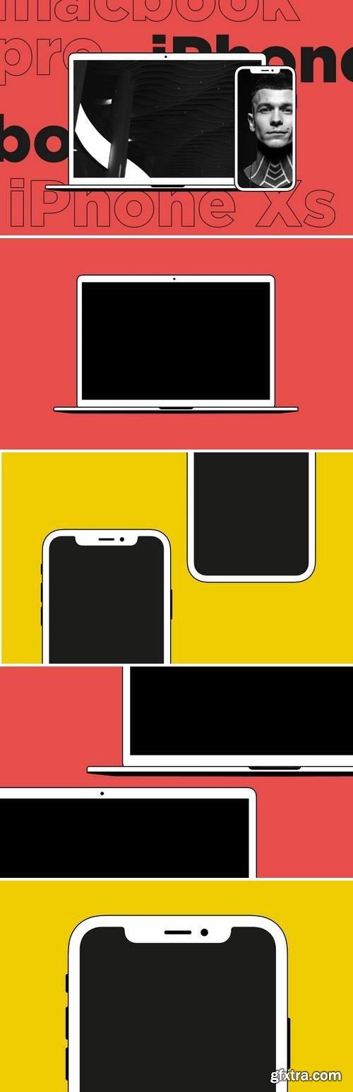 iPhone Xs & MacBook Pro 15? mockup