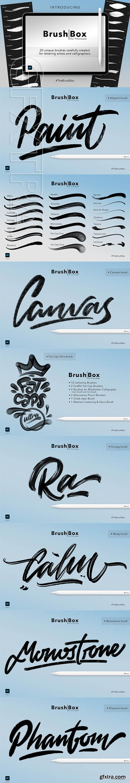 CreativeMarket - Brush Box for Procreate 3100686