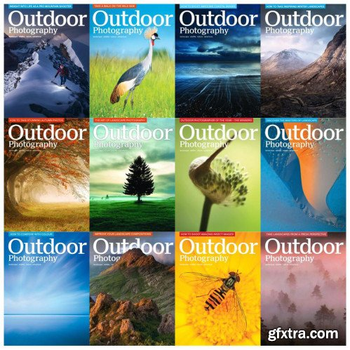 Outdoor Photography - 2018 Full Year Issues Collection