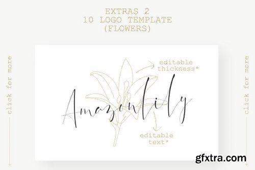 CreativeMarket Dattebayo Signature + Extras 3059825