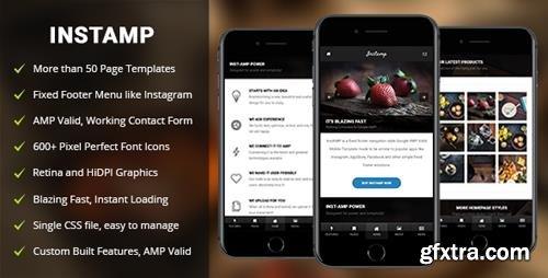 ThemeForest - AMP Insta Mobile - Mobile Google AMP Template (Update: 4 September 18) - 20398389