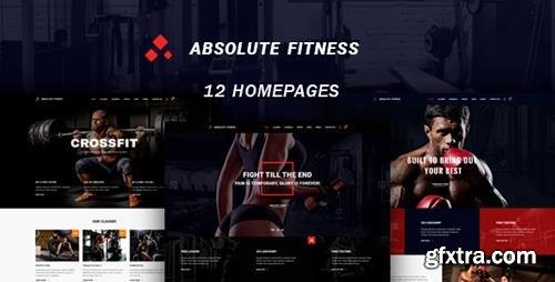 ThemeForest - Absolute Fitness v1.0.1 - multipurpose WordPress theme - 20280393
