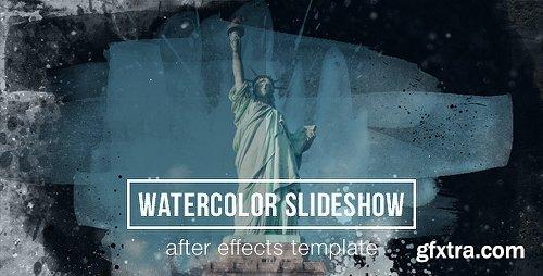 Videohive Watercolor Parallax Slideshow 13468791